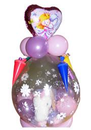 Geschenke im Ballon