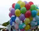 Ballon-Weitflung
