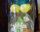 Geschenkverpackung mit Luftballons