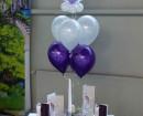 Tischdeko aus Luftballons