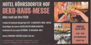 DEKO hausmesse im Hotel Röhrsdorfer Hof