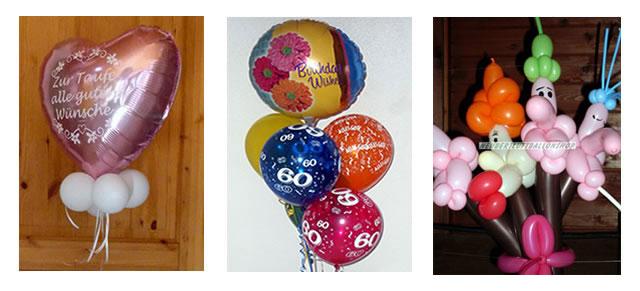 Ballonauswahl